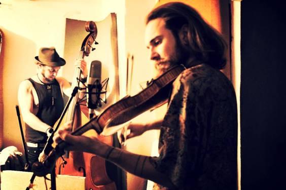 Aron and Kjartan Recording