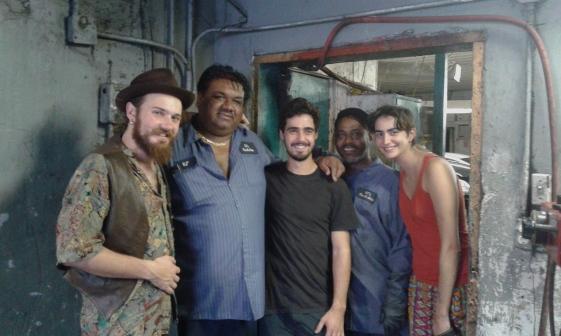 At the mechanic -Miami, USA