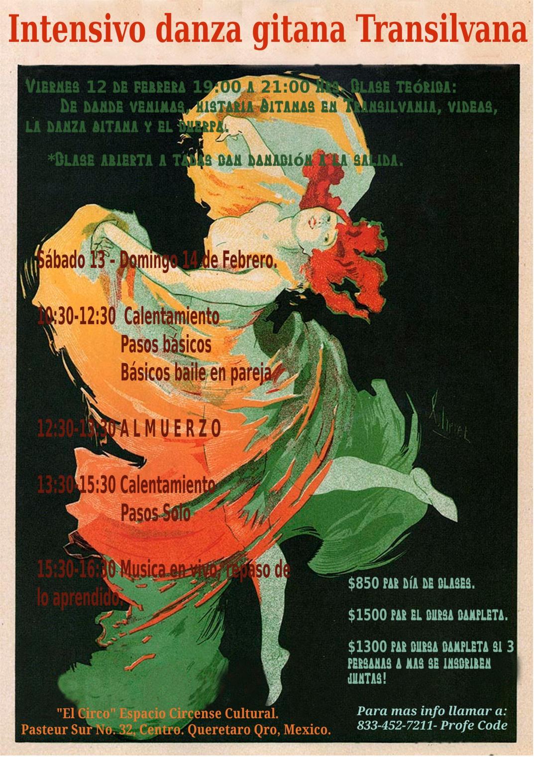 Poster clases danzanumero